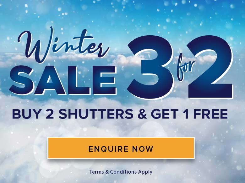 Perfect Shutters Winter Sale