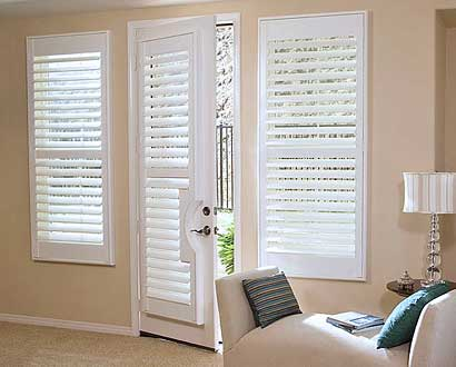 Wood French Door Shutters