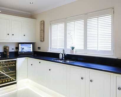 Wood Kitchen Shutters