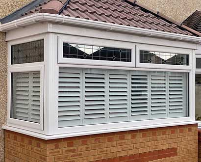 Cafe Style Shutter kerb appeal