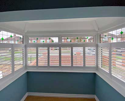 Cafe Style Shutters from Perfect Shutters