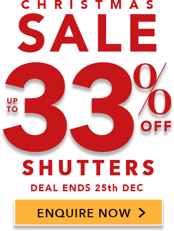 Perfect Shutters Christmas Sale