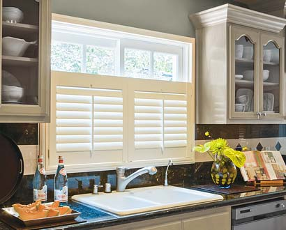 cafe-style shutters for kitchens