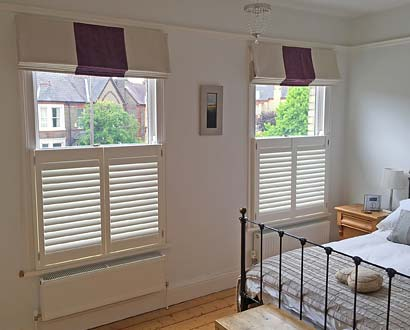 cafe-style shutters privacy